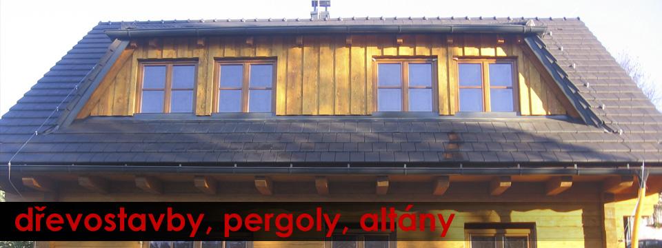 Dřevostavby, pergoly, altány